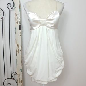 Ruby Rox ivory formal dress size 9